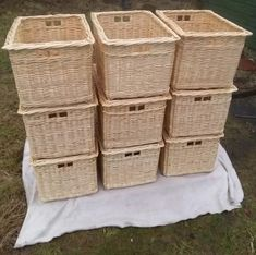 Made to measure baskets by John Cowan Baskets