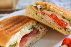 ... Turkey Pesto Panini | Recipe | Pinterest | Paninis, Pesto and Turkey