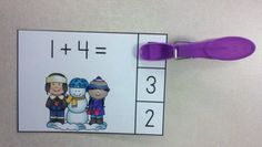 Snow Day Fun Winter Addition Math Centers (Sums of 0 to 10)  $ #KampKindergarten  #SnowDay  #Winter #WinterMath #Addition #Snowman https://www.teacherspayteachers.com/Product/Snow-Day-Fun-Winter-Addition-Math-Centers-Sums-of-0-to-10-1027708