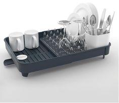 Joseph Joseph Extend Expandable Dishrack With Draining Plug Grey - The Home Essentials