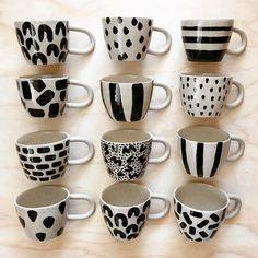 Image gallery – Page 301811612521763382 – Artofit Pottery Mugs, Ceramic Pottery, Pottery Art, Ceramic Planters, Ceramic Clay, Pottery Painting, Ceramic Painting, Coffee Cup Art, Learn Art