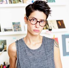 easy boho hairstyles : 1000+ images about Hair androgynous lesbian Dyke haircuts, pixie hair ...