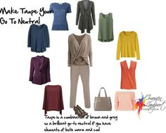 make taupe your neutral - Thinking about going gray.