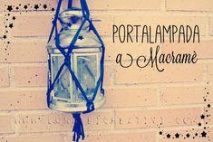 LUNAdei Creativi   Portalampada o Portavasi a Macramè: Tutorial   http://lunadeicreativi.com