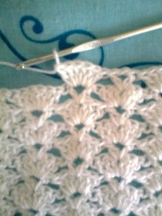 Manta de bebe en crochet !! Amigas aqui les dejo el paso a paso de esta manta ,la calidad de la foto no es muy buena pero se ... [] # # #Knitting, # #Step, # #Points, # #Weave
