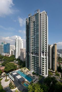 Montebleu with luxury high-rise in Singapore