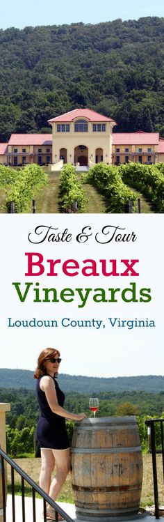Breaux Vineyards Collage