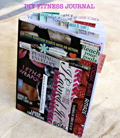 DIY Fitness Journal what a great place to log food and workouts!
