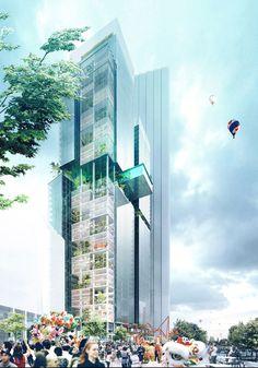 Parramatta Square Design Competition Winner Revealed http://www.evolo.us/architecture/parramatta-square-design-competition-winner-revealed/