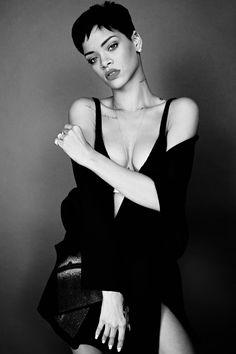 ♡ On Pinterest @ kitkatlovekesha ♡ ♡ Pin: Celebrities ~ Rihanna 2013 Photoshoot for Elle Magazine ♡