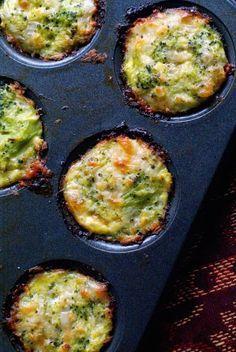 Recetas con brócoli, muffins salados