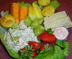 Sweet Tea and Cornbread: The Perfect Easter Brunch! Pecan Chicken Salad