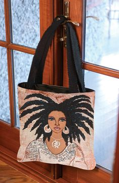 "New Tote Bags For Mother's Day! ""Nubian Queen"" by #Gbaby 