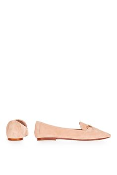 LIBBY Leather Softy Loafers