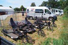 Toxy Liegerad GmbH - Wacken Calling... - 1. August 2013: Trimobil-Flot