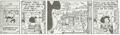 O Espaço Não Para: Continuação da Tirinha da Mafalda - 7ª Série Geórgia
