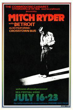 Mitch Ryder poster