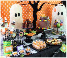 encontrando ideias festa de halloween - Baby Halloween Birthday Party