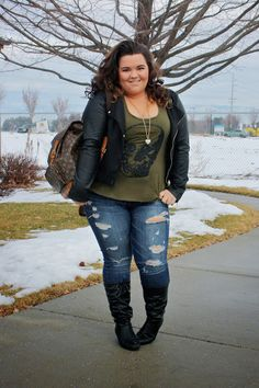 teen vogue shirt, teen vogue, natalie craig, plus size fashion blogger, plus size fashion, louis vuitton backpack, juicy couture necklace, d...