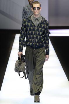 Emporio Armani - Fall 2017 Menswear