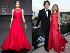Natalia Vodianova In Christian Dior Couture - 'Love Ball' In Support Of The Naked Heart Foundation