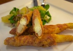 Chřestový Cordon Bleu, Asparagus Cordon Bleu - Stanislav Zukal