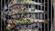 Sardines grillées à la chermoula.