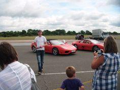 Pro Drive Race Track Warwickshire...... Drove a Ferrari and a Subaru Imprezza