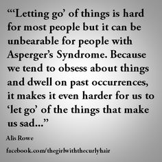 Needing Closure Aspergers