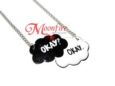 THE FAULT IN OUR STARS Okay? Okay Cloud Necklace