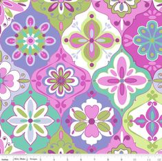 Ceramic Purple - Extravaganza - by Lila Tueller Designs for Riley Blake Designs (Yardage, 100% Cotton) by TheCleverQuiltShoppe on Etsy