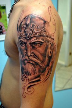Amazing Viking Tattoo photo - 1