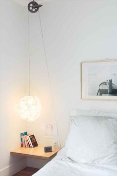 Invest in a nice bedside lamp so you never again have to get up to turn off the overhead light.
