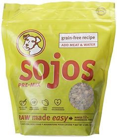 Sojos Pre-Mix Grain Free Freeze-Dried Raw Dry Dog Food Mix, 2-Pound Bag by Sojos Natural Pet Food ** Additional details at the pin image, click it  : Dog food types