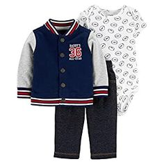 Foot Ball Apparel Archives - Golfiya - The Sports Store Carters Baby Boys, Baby Girls, Boys Pants, Baby Boy Fashion, Denim Fabric, Baby Boy Outfits, Baseball, Navy Football, Jackets