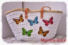 Bolso de palma/ Wicker Beach Basquet http://mogacu.blogspot.com.es