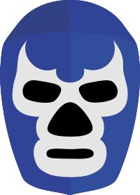 The Blue Demon´s mask