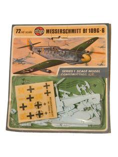 airfix construction kit vintage series 1 messerschmitt Adolf Galland, Kit, Scale Models, Construction, Personalized Items, Vintage, Napoleonic Wars, Building, Scale Model