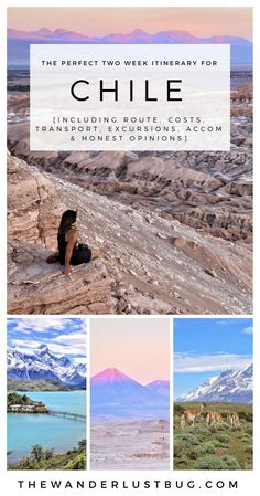 The Perfect Two Week Itinerary For Chile. Getting You To San Pedro de Atacama, Santiago, Valparaiso, Patagonia, Punta Arenas & Puerto Natales. Including Valle de la Luna, Stargazing, El Taito & Torres del Paine.
