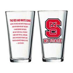 #NCState Pub Glass