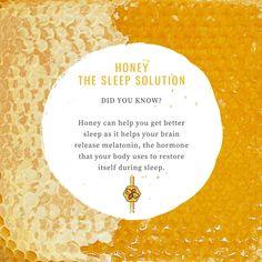 Honey Sticks, Honey Benefits, Pure Honey, Sleep Solutions, Sleep Remedies, Your Brain, Insomnia, Get Well, Restore