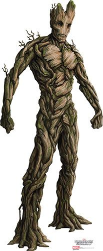 Groot - Marvel Guardians of the Galaxy Lifesize Cardboard Cutout
