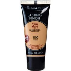 Rimmel - honestly, I do not WANT a foundation that sticks around for an entire fortnight- but this stuff works. Seriously. Go get you some.