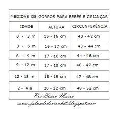 FALANDO DE CROCHET: GORRO DE CROCHE PARA BEBE - PONTOS ALTOS E LEQUES (CROCHET BABY)