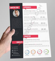 Home of Resumes Inspiration & Ideas, Beautiful Resume Ideas That Work, Find Daily High-quality resumes templates and design, Create your professional resume today ! Cv Design, Resume Design, Cv Manager, Creation Cv, Creative Cv Template, Cv Original, Cv Inspiration, Curriculum Vitae, Resume Cv