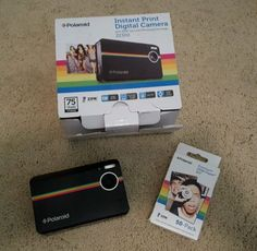 Polaroid-Z2300-Black-10MP-digital-instant-print-Zink-camera-Zink-paper-50-pack