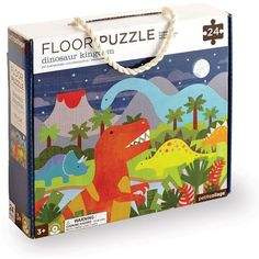 Petit Collage Dinosaur Kingdom Floor Puzzle