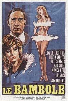 Le bambole 1964 di Dino Risi con Nino Manfredi, Gina Lollobrigida e Monica Vitti.