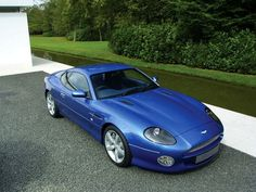 View From Above Aston Martin DB7 GT