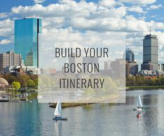 Set your dates, pace and interests, and our Boston Travel Guide recommend an itinerary of top attractions organized to reduce traveling around plus a map to help direct you.